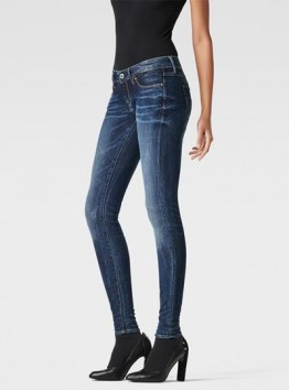 3301 Low-Rise Super Skinny Jeans
