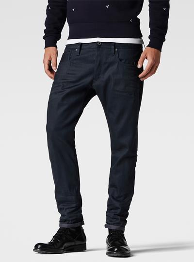 3301 Slim Red Listing Jeans