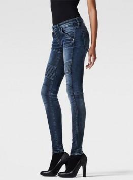 5620 Zip Custom Mid-Rise Skinny Jeans