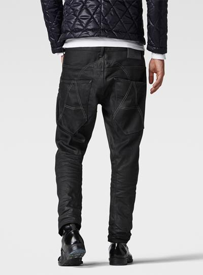 A Crotch 3D Tapered Jeans