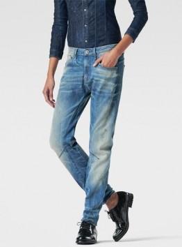 Arc 3D Low-Rise Waist Boyfriend Jeans