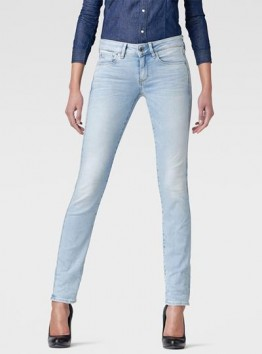 Attacc Mid-Rise Straight Jeans