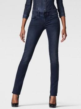 Lynn Mid-Rise Straight Jeans