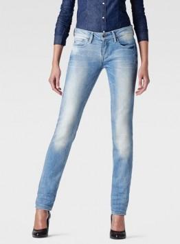 Midge Mid-Rise Straight Jeans