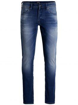 JACK & JONES Glenn Dash Ge 103 Indigo Knit Slim Fit Jeans Heren Blauw