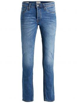 JACK & JONES Tim Original Am 420 Slim Fit Jeans Heren Blauw