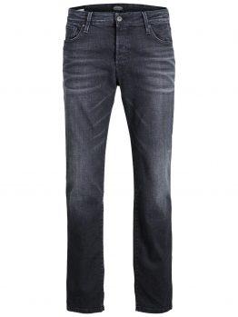 JACK & JONES Clark Icon Bl 774 50sps Regular Fit Jeans Heren Zwart