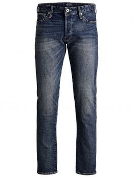 JACK & JONES Mike Icon Cr 001 Comfort Fit Jeans Heren Blauw