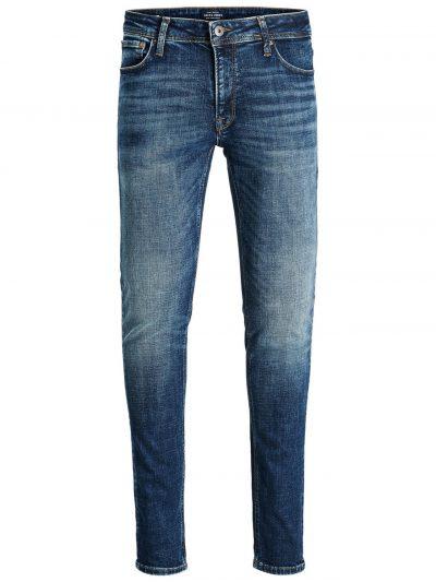 JACK & JONES Liam Original Jj 019 50sps Skinny Jeans Heren Blauw