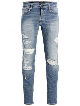 JACK & JONES Glenn Con Bl 782 Slim Fit Jeans Heren Blauw