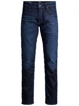 JACK & JONES Mike Org Jos 097 Comfort Fit Jeans Heren Blauw