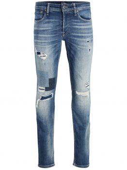 JACK & JONES Glenn Original Jj 033 Slim Fit Jeans Heren Blauw