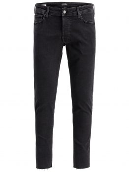 JACK & JONES Glenn Org Crop Jos 189 Slim Fit Jeans Heren Zwart