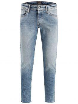 JACK & JONES Glenn Org Crop Jos 096 Slim Fit Jeans Heren Blauw