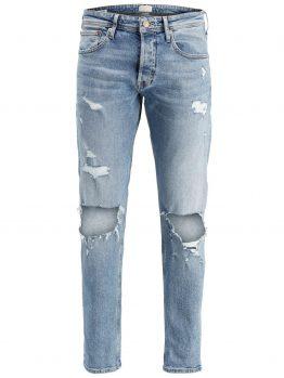 JACK & JONES Mike Original Jj 053 Comfort Fit Jeans Heren Blauw