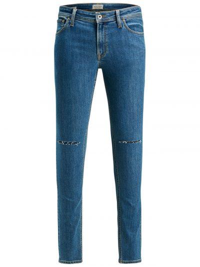 JACK & JONES Liam Original Am 696 Skinny Jeans Heren Blauw